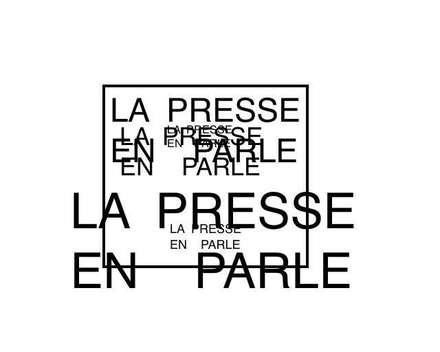 La presse en parle logo