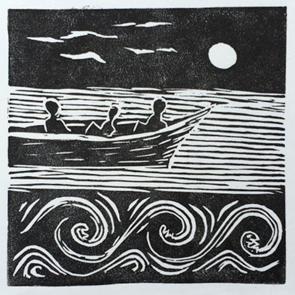 La barque enchantée